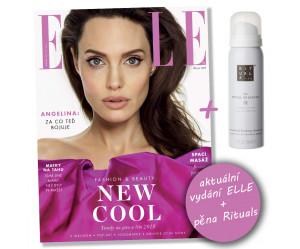 Časopis Elle 3/2018 + pěna Rituals (50ml)
