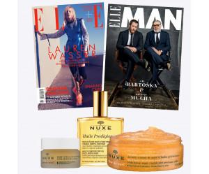 Duo předplatné ELLE (12 vydání) & ELLE Man (2 vydání) + péče NUXE