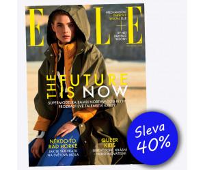 Roční předplatné ELLE se slevou 40%