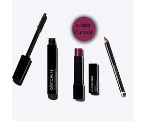 Roční předplatné ELLE + sada přírodní kosmetiky Alima Pure - odstín rtěnky Currant