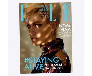 Aktuální vydání Elle 1/2019 (poštovné zdarma)