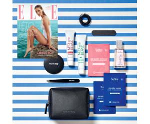 Aktuální vydání Elle 8/2019 + cestovní taštička Notino