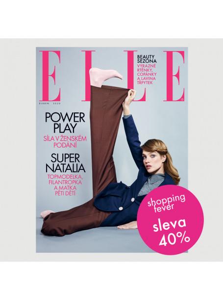 Roční tištěné předplatné ELLE se slevou 40 %