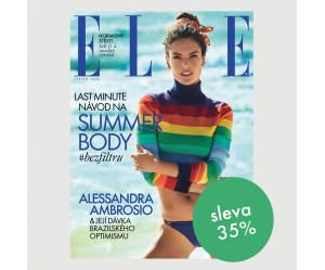 Půlroční tištěné předplatné ELLE se slevou 35 %
