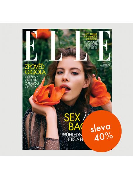 Půlroční tištěné předplatné ELLE se slevou 40 %