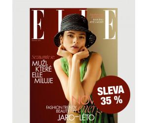 Roční tištěné předplatné ELLE se slevou 35 %