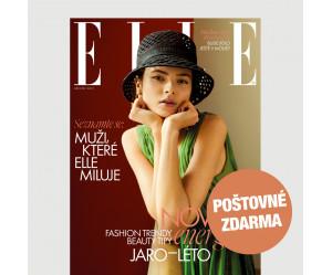 Aktuální vydání Elle 3/2021 + KOSMETIKA PRO VÁS (POŠTOVNÉ ZDARMA, pouze pro ČR)