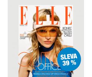 Roční tištěné předplatné ELLE se slevou 39 %