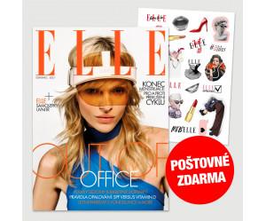 Aktuální vydání Elle 7/2021 (POŠTOVNÉ ZDARMA, pouze pro ČR)