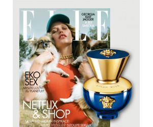 Roční předplatné ELLE + vůně Versace pour femme Dylan Blue