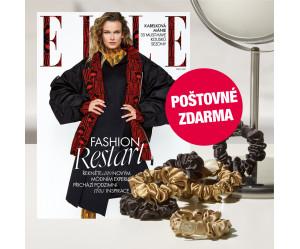 Aktuální vydání Elle 10/2021 s gumičkami do vlasů, POŠTOVNÉ ZDARMA (pouze pro ČR)