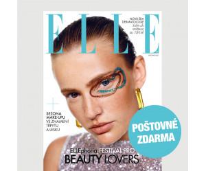 Aktuální vydání Elle 11/2021 + kosmetika pro vás (POŠTOVNÉ ZDARMA, pouze pro ČR)