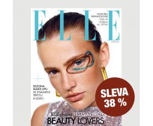Roční tištěné předplatné ELLE se slevou 38 %